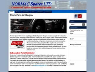 normacspares.com screenshot
