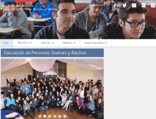 normalizacion.mineduc.cl screenshot