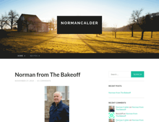 normancalder.com screenshot