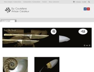 normandy-knives.com screenshot