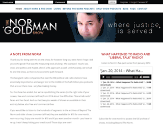 normangoldman.com screenshot