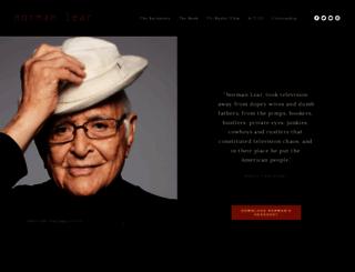 normanlear.com screenshot