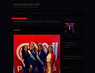 normannorman.com screenshot