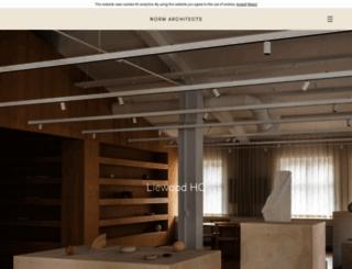 normcph.com screenshot