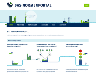 normenportal.de screenshot