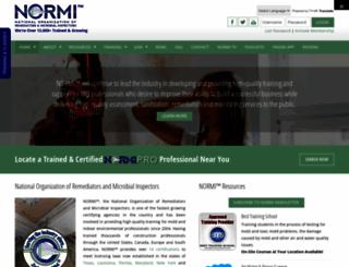 normi.org screenshot