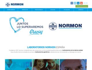 normon.es screenshot