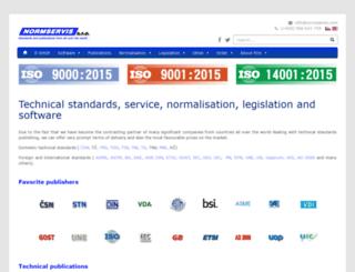 normservis.de screenshot