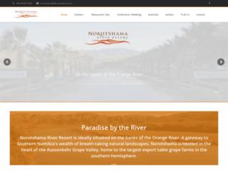 norotshamaresort.com screenshot