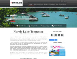norrislaketennessee.com screenshot