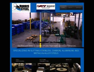 norrissteel.com screenshot