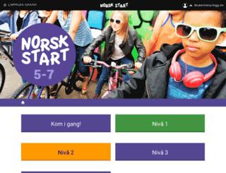 norskstart5-7.cappelendamm.no screenshot
