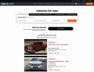 nortedesantander.carros.com.co screenshot