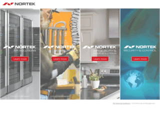 nortekinc.com screenshot