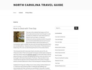 north-carolina-travel-guide.com screenshot