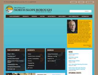 north-slope.org screenshot