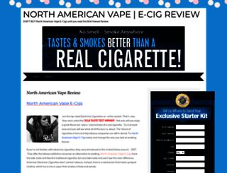 northamericanvapeecig.wordpress.com screenshot