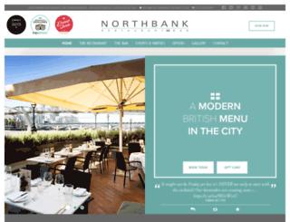 northbankrestaurant.com screenshot