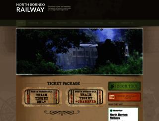 northborneorailway.com screenshot