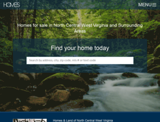 northcentralwvhomes.com screenshot