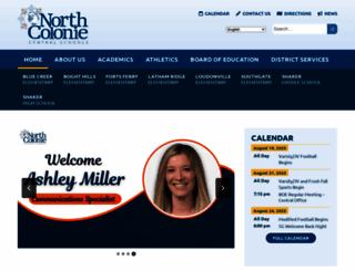 northcolonie.org screenshot