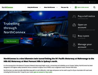 northconnex.com.au screenshot