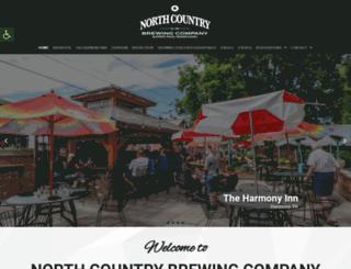 northcountrybrewing.com screenshot