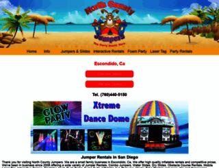 northcountyjumpers.com screenshot