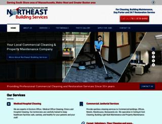 northeastbuildingservices.com screenshot