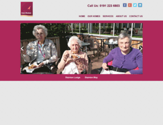northeastcarehomes.com screenshot