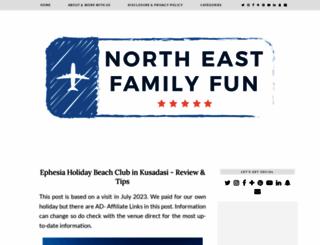 northeastfamilyfun.co.uk screenshot