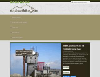 northeasthikes.com screenshot