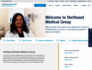 northeastmedicalgroup.org screenshot