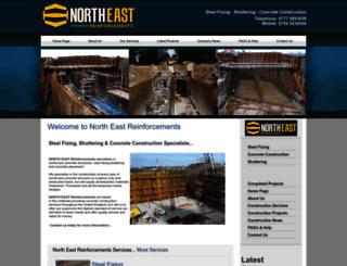 northeastreinforcement.co.uk screenshot