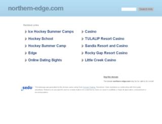 northern-edge.com screenshot