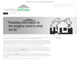 northern-lettings.co.uk screenshot