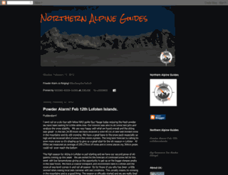northernalpine.blogspot.com screenshot