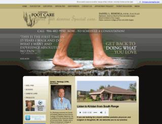 northernfootcare.com screenshot