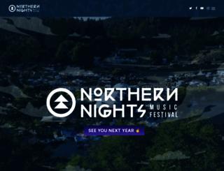 northernnights.org screenshot