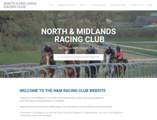 northernracingclub.com screenshot