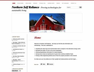 northernselfreliance.com screenshot