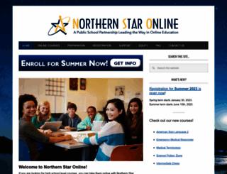 northernstaronline.org screenshot