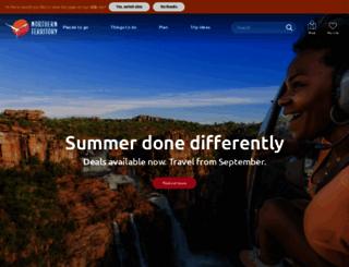northernterritory.com screenshot