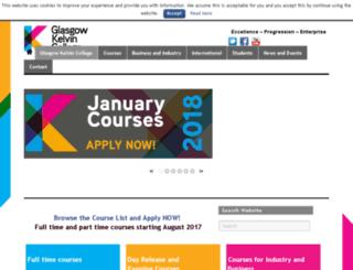 northglasgowcollege.ac.uk screenshot