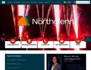northglenn.org screenshot