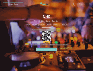 northhighlandradio.co.uk screenshot