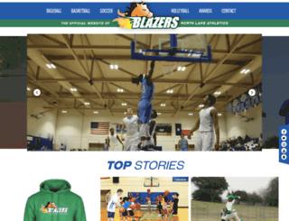 northlakecollegeathletics.com screenshot