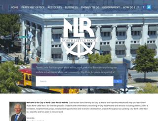 northlittlerock.ar.gov screenshot