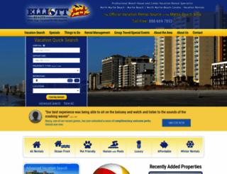 northmyrtlebeachtravel.com screenshot