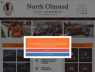 northolmstedschools.org screenshot